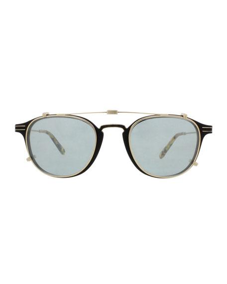 Hampton Square Sunglasses, Matte Black