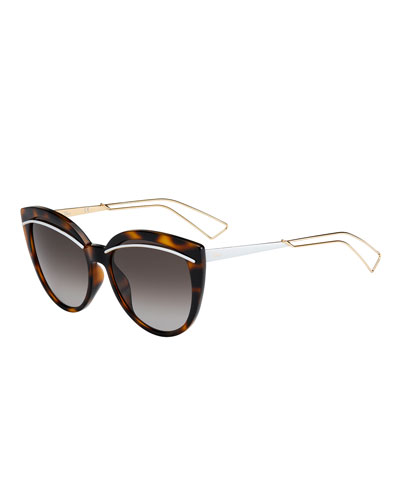 Liners Butterfly Cutout Sunglasses
