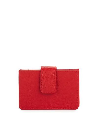 SAFFIANO CARD CASE MULTI 'PR