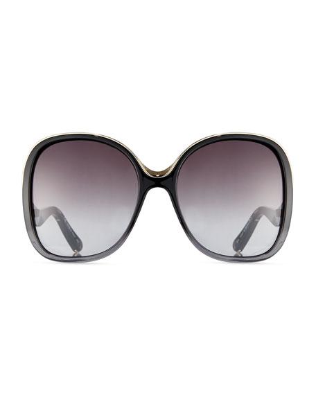 Mandy Square Acetate Sunglasses