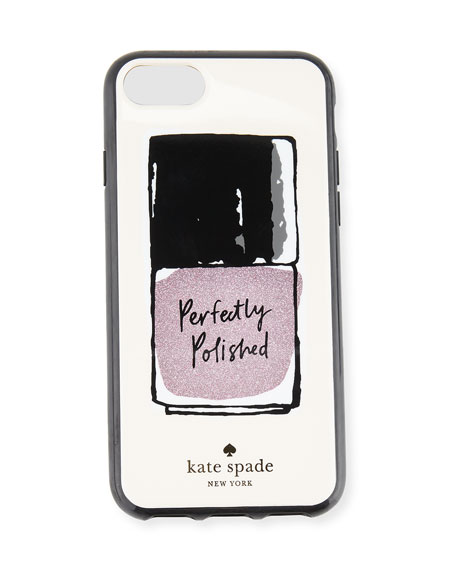 kate spade new york perfectly polished iPhone 7