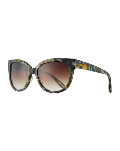 Vandella Cat-Eye Sunglasses
