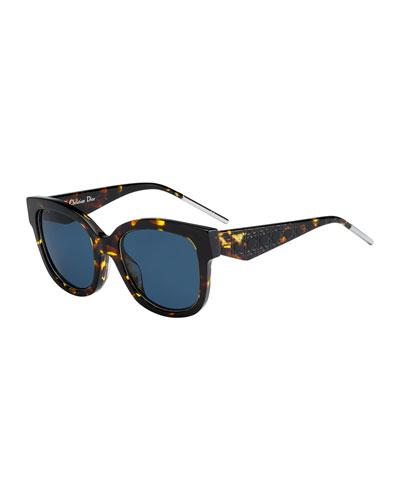 Verydior1 Square Acetate Sunglasses