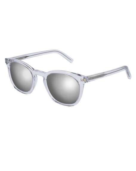 Mirrored Square Sunglasses