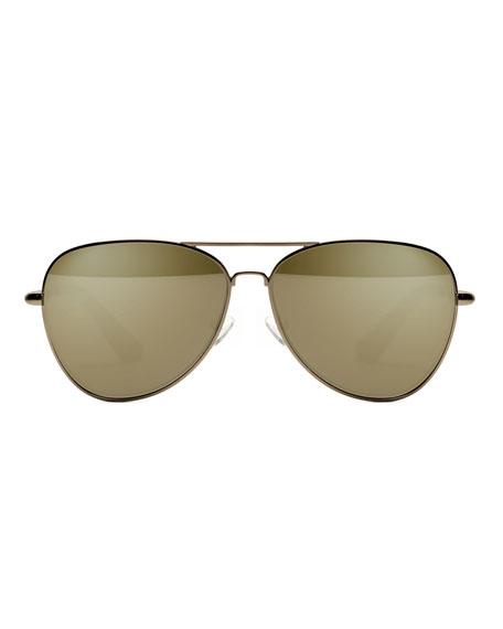 Stanton Stainless Steel Aviator Sunglasses