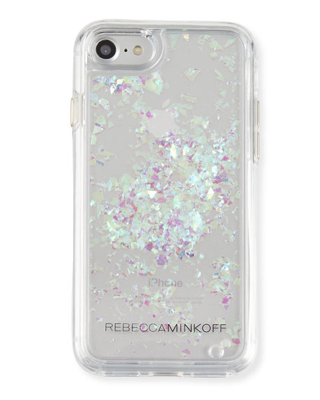 Rebecca Minkoff Waterfall Glitter Phone Case, Multi