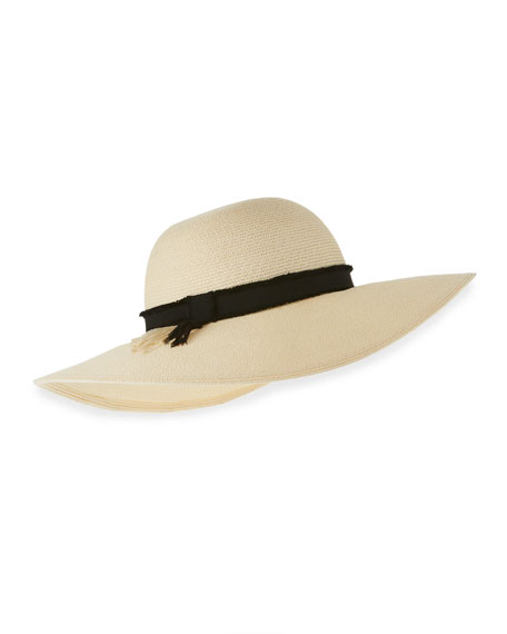 Eugenia Kim Honey Toyo Sun Hat, Ivory