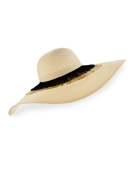 Eugenia Kim Sunny Floppy Toyo Sun Hat, Ivory