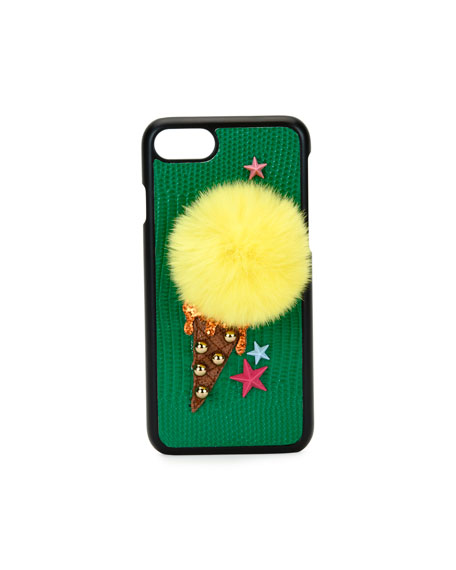 Dolce & Gabbana Ice-Cream Pompom iPhone 7 Case,