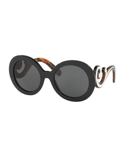 Sunglasses Prada  prada sunglasses square cat eye sunglasses at neiman marcus