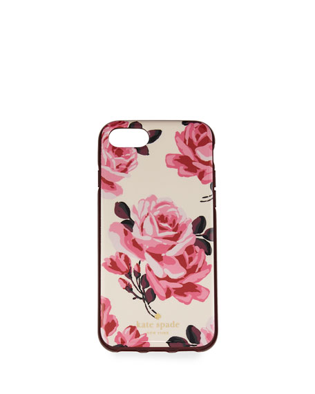 rosa iPhone 7 case, pink sand/multi