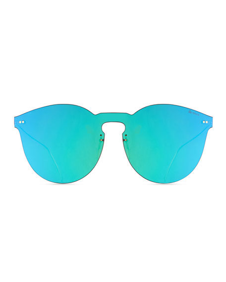 Leonard II Mask Sunglasses, Green