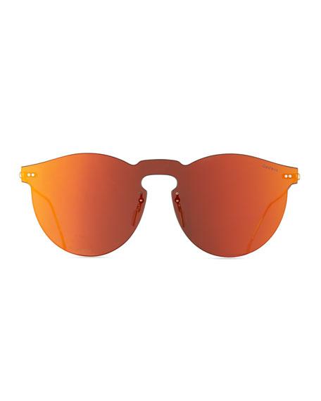 Leonard Mask Sunglasses, Red