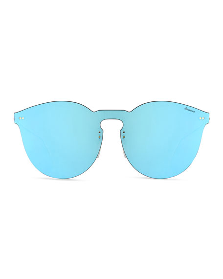 Leonard II Mask Sunglasses, Blue