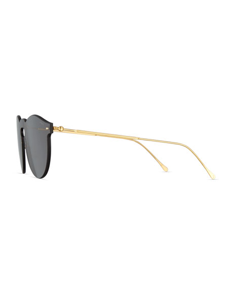 Leonard Mask Sunglasses, Gray