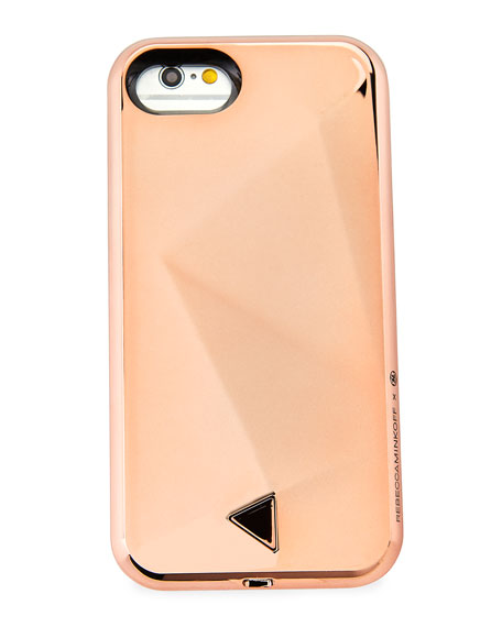 Glow Selfie iPhone 7 Case, Pink Pattern