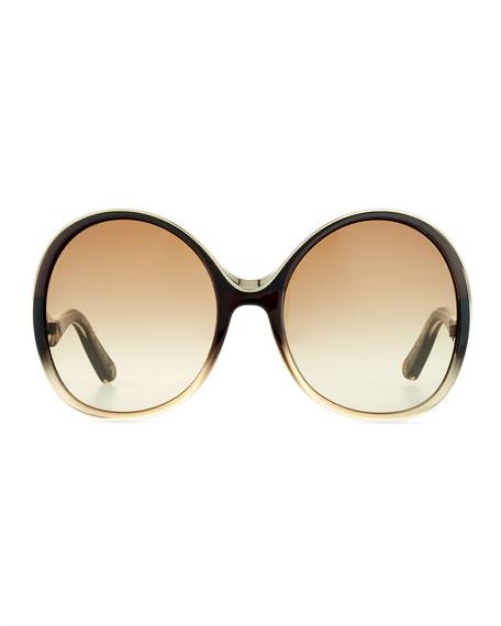 Mandy Oval Sunglasses
