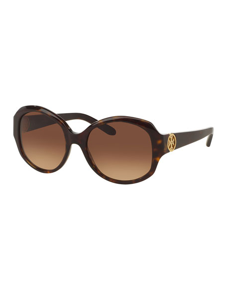 Tory Burch Acetate Butterfly Sunglasses