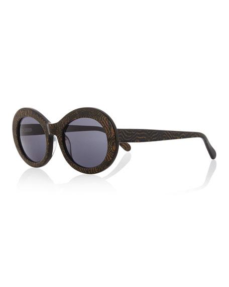 Sunglasses San Francisco  prism san francisco transpa oval sunglasses dark blue