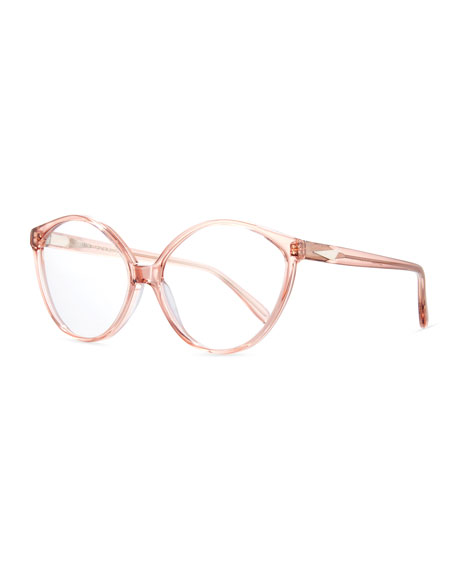 Prism Istanbul Geometric Optical Frames, Rouge