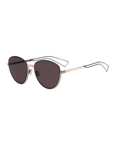 Ultra Dior Round Sunglasses