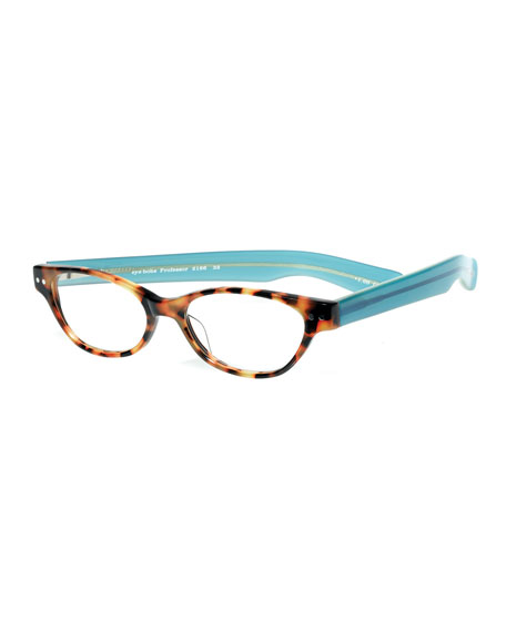 Eyebobs Professor Cat-Eye Colorblock Readers