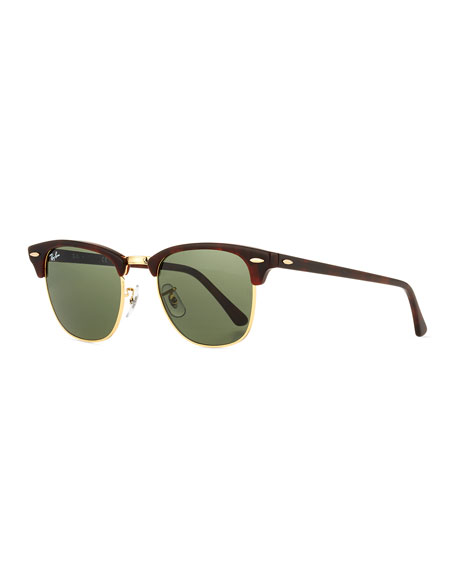 Image 1 of 2: Ray-Ban Clubmaster® Monochromatic Sunglasses