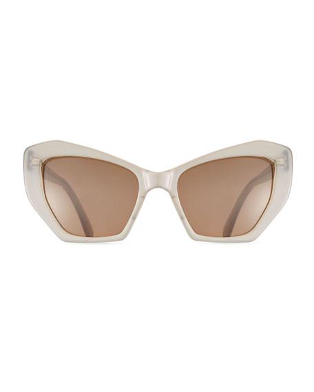 Brasilia Acetate Sunglasses, Pink
