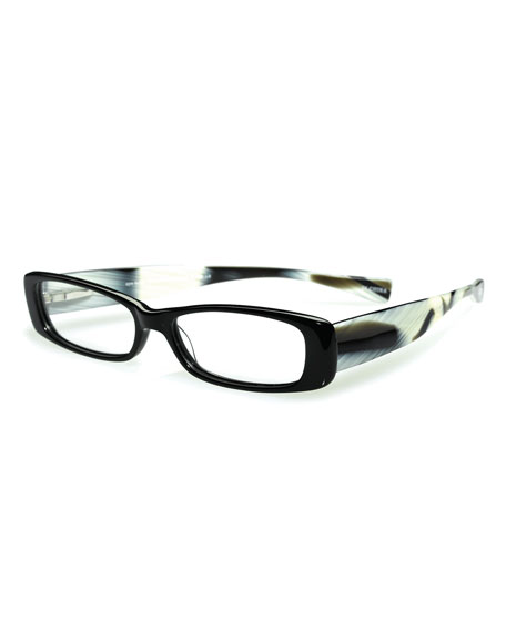 Co-Conspirator Limited Edition Readers, Black/White Tortoise