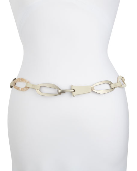 Geometric Chain-Link Hip Belt
