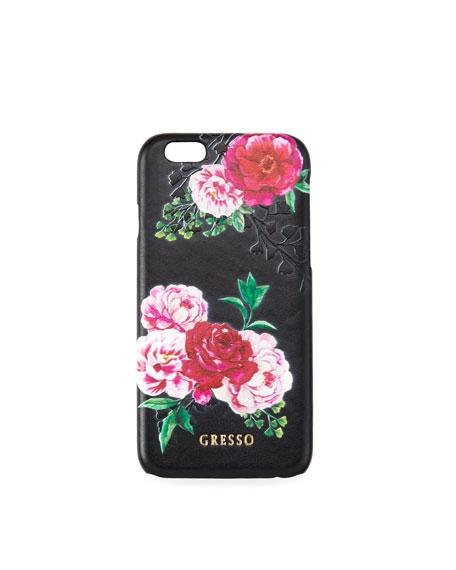 Gresso Victorian Garden iPhone Case, Pink Roses