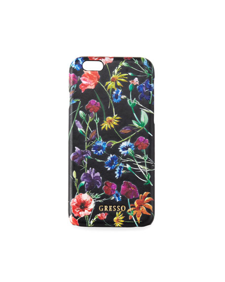 Victorian Garden iPhone Case, Wild Flowers