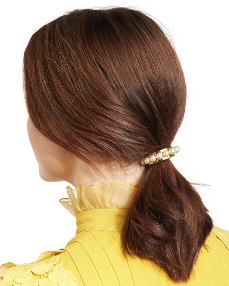 Perla Swarovski® Pearl Ponytail Holder