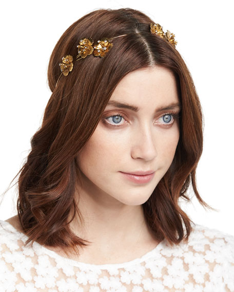 Belle Floral Bandeau Headband