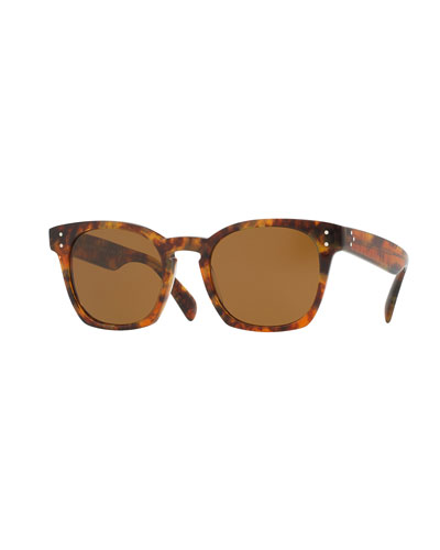Byredo Square Mirrored Sunglasses
