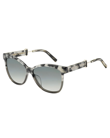 Marc Jacobs Square Gradient Acetate Sunglasses