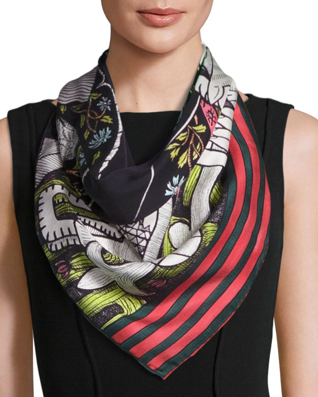 Blooms scarf - Multicolour Gucci 0Qjx6fMq