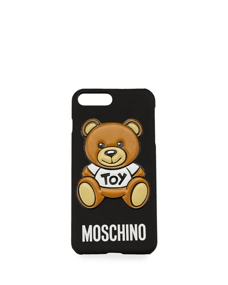 Teddy Bear iPhone 6 Case, Black/Multi