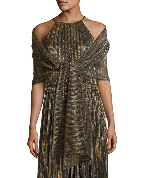 St. John Collection Gown & Wrap