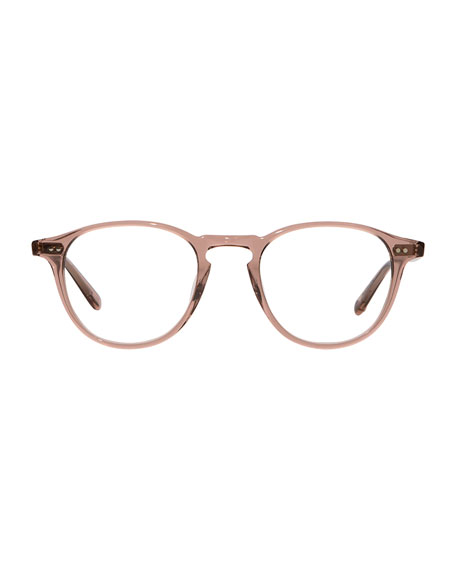 Hampton Square Acetate Sunglasses, Red/Brown