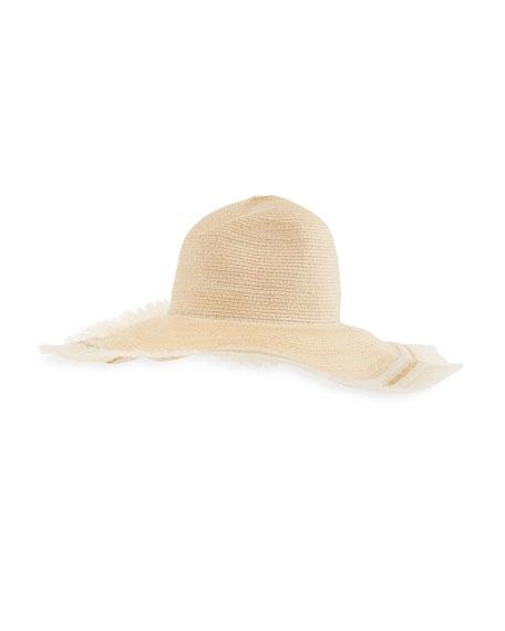 Filuhats Foldable Straw Hat w/ Wire Brim