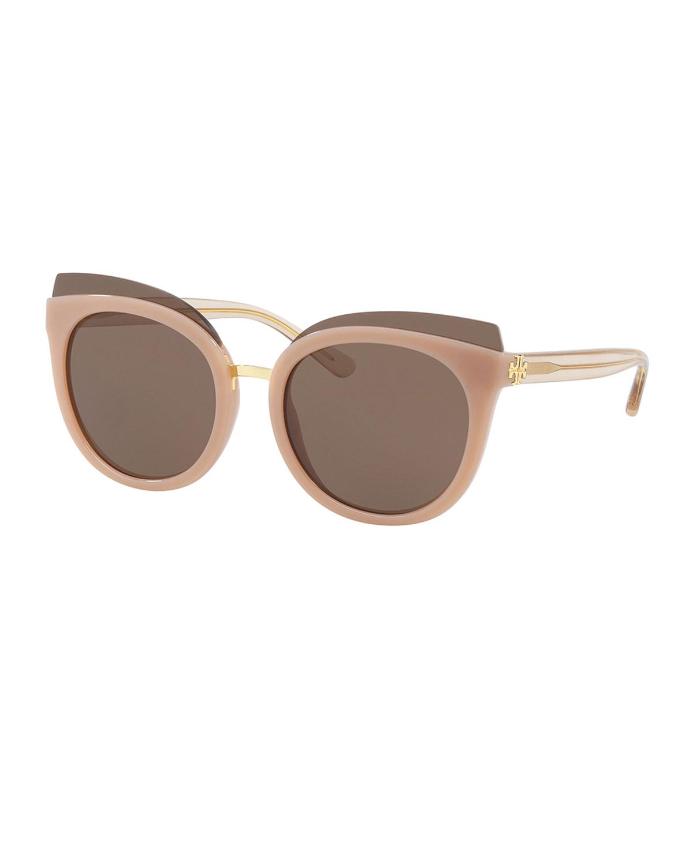 e20b98e9be Tory Burch Monochromatic Cat-Eye Sunglasses
