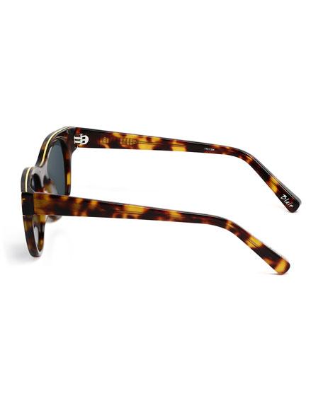 Blair Square Monochromatic Sunglasses