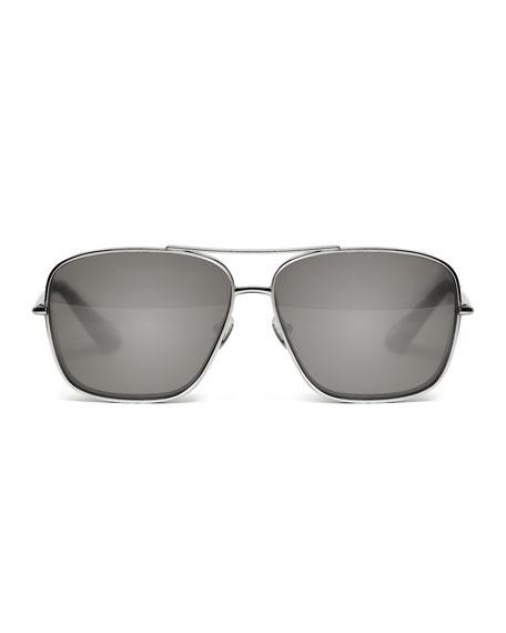 Deacon Square Aviator Sunglasses