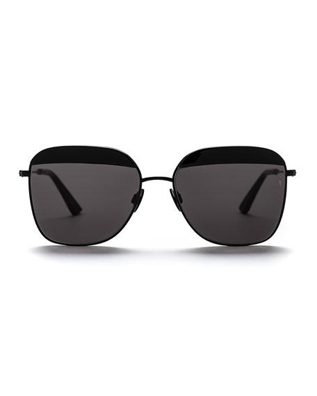 Vito Capped Square Sunglasses