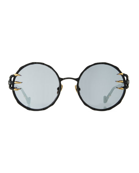 The Claw and the Moon Round Sunglasses