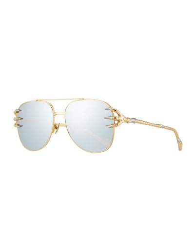 The Claw and the Journey Aviator Sunglasses