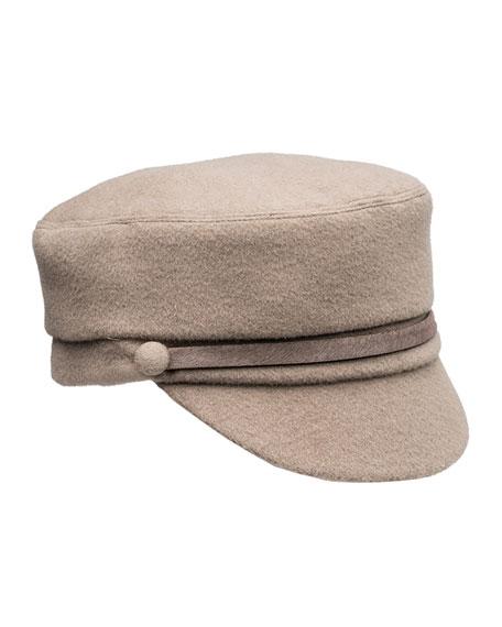 Eugenia Kim Elyse Cashmere Military Hat