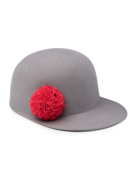 Eugenia Kim Bo Wool Felt Baseball Hat, Light