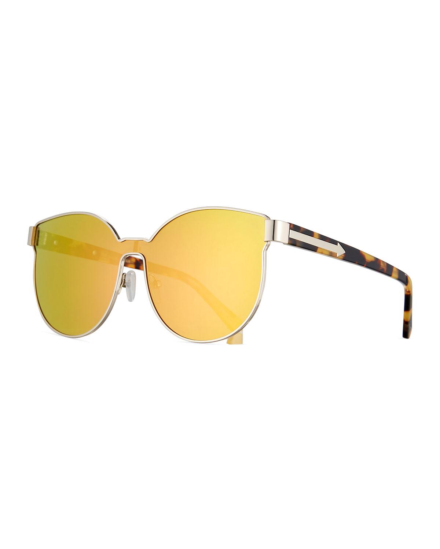 5cb9ac9504c40 Karen Walker Star Sailor Mirrored Sunglasses